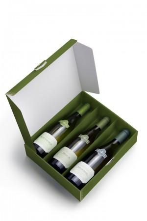 3 bottles box