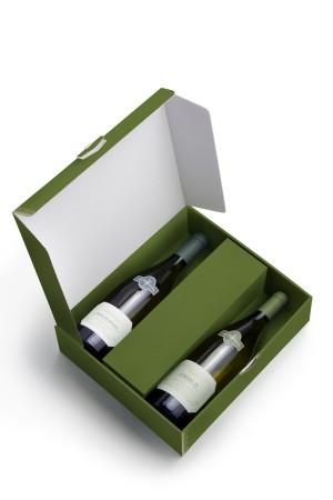 2 bottles box